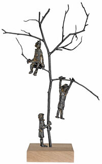 """Skulptur """"Tree of Joy"""", Bronze"""