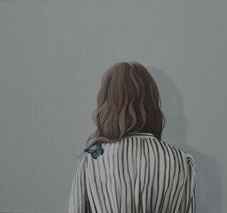 """Bild """"alles spricht dafür (Schmetterling XIV)"""" (2021) (Unikat)"""