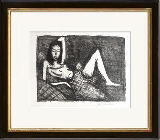 """Bild """"Mädchen auf dem Kanapee"""" (1921/22)"""