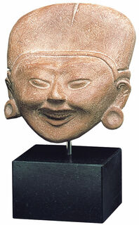 Lächelnder Kopf