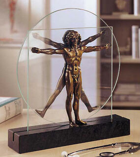"Skulptur ""Schema delle Proporzioni"", Version in Kunstbronze"
