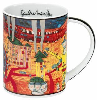 "Magic Mug ""(936) The 30 days Fax Painting"", Porzellan"