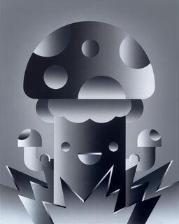 """Bild """"The Bomb"""" (2018) (Unikat)"""