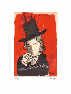 """Bild """"Marlene Dietrich - Ich bin die fesche Lola"""" (2020), ungerahmt"""