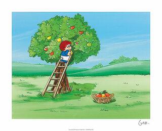 """Bild """"Traum unterm Apfelbaum"""", ungerahmt"""