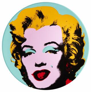 """Porzellanteller """"Marilyn"""" (Blau)"""