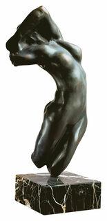 "Skulptur ""Torso der Adele"" (Originalgröße), Version in Bronze"