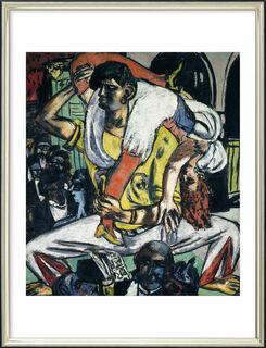 """Bild """"Apachentanz"""" (1938), gerahmt"""