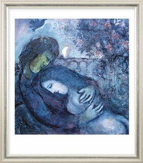 """Bild """"Traum der Liebenden"""" (1962), gerahmt"""