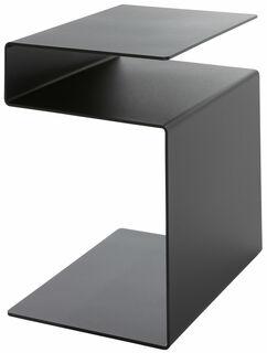 """Multifunktionaler Beistelltisch """"HUK"""", schwarze Version"""