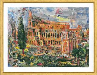 "Bild ""Rom - das Kolosseum"", gerahmt"