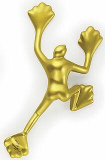 """Wandskulptur """"Flossi I Gold"""""""
