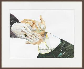 """Bild """"Die Hände in Unschuld waschen"""" (2003) (Unikat)"""