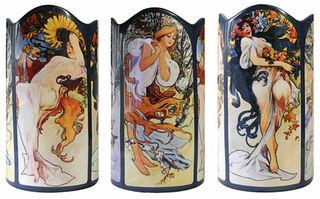 """Keramikvase """"Vier Jahreszeiten"""""""