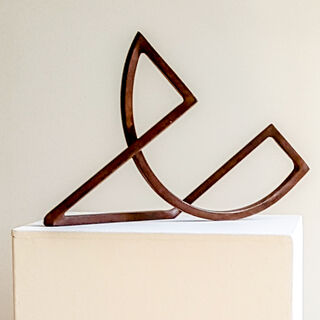 "Skulptur ""Schleife 33 - Stahl Edition"" (1999)"