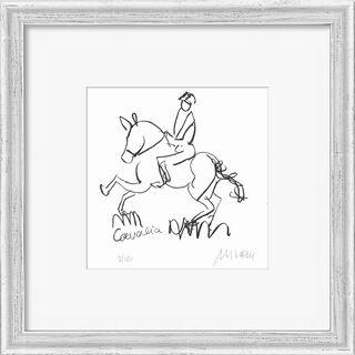 "Bild ""Cavalia Horse Show"" (2021), gerahmt"