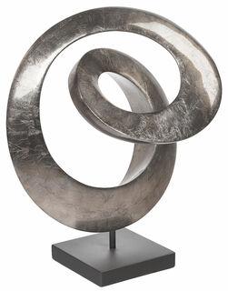 "Skulptur ""Rotonde"" (silberfarbene Version), Kunstguss"