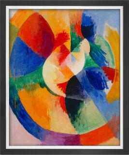 "Bild ""Kreisformen, Sonne (Formes circulaires, soleil)"" (1912/13), gerahmt"