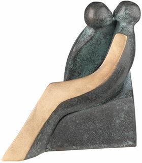 "Skulptur ""Liebe"", Bronze"