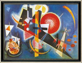 "Bild ""Im Blau"" (1925), gerahmt"