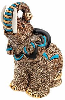 """Keramikfigur """"Glückselefant"""""""