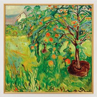 "Bild ""Apfelbaum am Atelier"" (1920-28), gerahmt"
