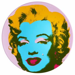 "Porzellanteller ""Marilyn"" (Lila)"