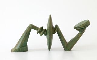"""Skulptur """"Die Ruhe"""" (2006), Bronze"""