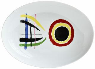 Platte / Schale oval - von Bernardaud