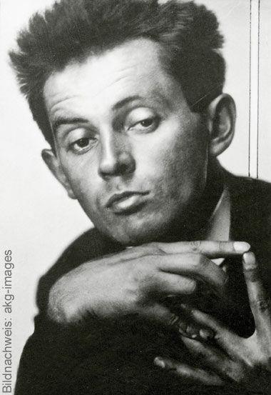 Porträt des Künstlers Egon Schiele