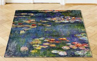 """Teppich """"Seerosen"""" (150 x 150 cm)"""