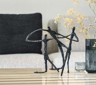 """Skulptur """"To Integrate"""", Bronze"""