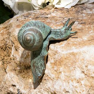 """Gartenskulptur """"Schnecke Reinhold"""", Bronze"""
