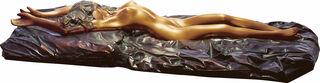 """Skulptur """"La riposata"""", Bronze"""