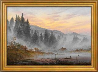 """Bild """"Der Morgen"""" - aus dem """"Tageszeitenzyklus"""", gerahmt"""