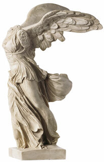 "Skulptur ""Nike von Samothrake"" (33 cm), Kunstguss"