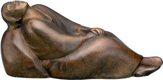 """Skulptur """"Träumendes Weib"""" (1912), Reduktion in Bronze"""