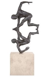 """Skulptur """"Engelgriff"""" (2013), Bronze"""