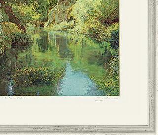 """Bild """"Gärten von Ninfa"""", gerahmt"""