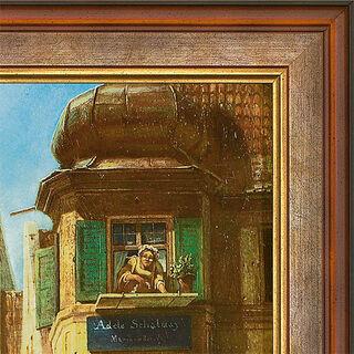 """Bild """"Der ewige Hochzeiter"""" (1855-58), gerahmt"""