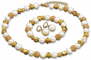 "Schmuckset ""Perlen der Renaissance"""