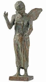 """Skulptur """"Engel von St. Pauli"""" (2019), Bronze"""
