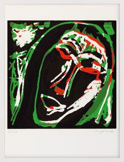 """Bild """"Kopf weiblich (P)"""" (1991)"""
