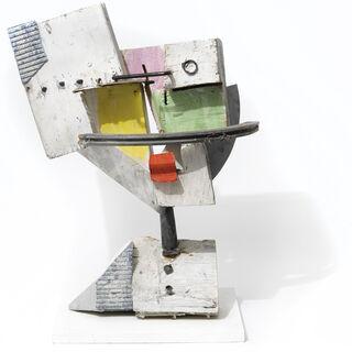 """Skulptur """"Kopf mit roter Zunge"""" (2013) (Unikat)"""