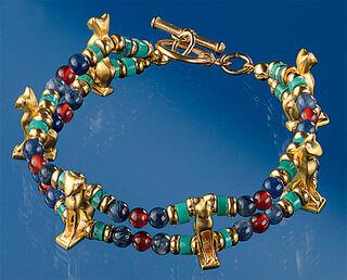"Armband ""Ägyptische Bastetkatze"""