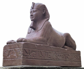 """Replikat """"Sphinx des Königs Nektanebos"""""""