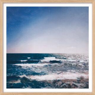 """Bild """"Seestück"""" (1998), Version naturfarben gerahmt"""