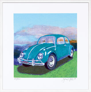 "Bild ""Mini Bug - Turquoise"" (2017)"