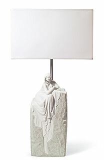 "Tischlampe ""Meditating Woman I"" - Design José Luis Santos"