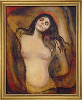 "Bild ""Madonna"" (1894), gerahmt"